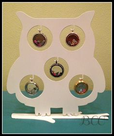 Owl Locket Display for Origami Owl