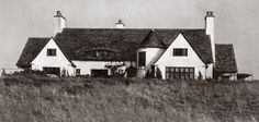 Vintage 1920s photo of Heather Dune at at 57 West End Road, East Hampton. Destroyed by fire on March 18,2015