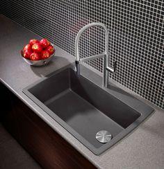 Cinder Blanco Sink : ... sinks on Pinterest Blanco sinks, Granite kitchen sinks and Sinks
