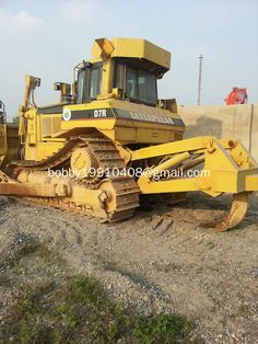 Used CATERPILLAR bulldozer D7R sale made in USA