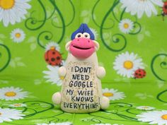 I don't need google my wife know everything! Funny gifts, Gift for husband, Gift for wife, Unique gifts, Marriage, Cow. by HomemadeCraftIdeas on Etsy