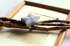 Ringe - Beton Ring Stern lila Schein  - ein Designerstück von Ranita bei DaWanda