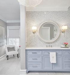 Y'all are loving our master bath remodel at #projectpurdue so much that we thought we'd share more! This vanity was completely redesigned to accommodate more counter space.