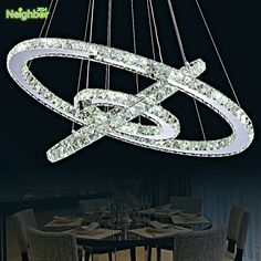 Modern LED Crystal Chandelier Lights Lamp For Living Room Cristal Lustre Chandeliers Lighting Pendant Hanging Ceiling Fixtures Cheap Chandelier, Ring Chandelier, Chandelier For Sale, Led Living Room Lights, Chandelier In Living Room, Pendant Light Fixtures, Pendant Lamp, Ceiling Fixtures, Light Pendant
