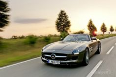 A beauty - SLS AMG Roadster