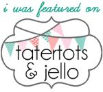 Visit tatertotsandjello.com. Great craft/ DIY blog & website