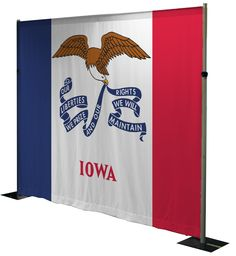 Great backdrop for Iowa. Check more out at https://sublimations.com/product/pre-designed-backdrops/