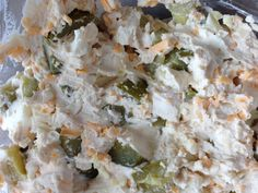 Dill Pickle dip (sooo good if you love pickles!!!)   1 jar of pickles chopped (approx 2 cups)  1 package of cream cheese 1 cup of shredded cheese  1 tbsp of worschester sauce  1 tbsp of sour cream (or mayo)  1 tsp of garlic powder   Mix together and serve with strong chips/crackers!!  Be warned. It's addictive :)
