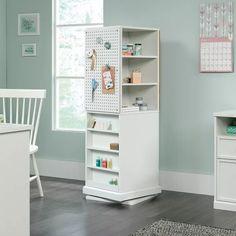 Sewing Room Organization, Craft Room Storage, Storage Spaces, Storage Drawers, Ikea Craft Room, Sewing Room Storage, Craft Room Organizing, Storage Organization, White Craft Room