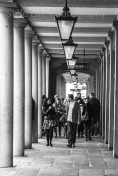A Couple Take A Stroll on a Sunny Day, Covent Garden, London, UK Both the architecture and the raw energy of the couple really caught my attention