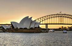 After glow II by Smita Nashikkar on Nice View, Opera House, Glow, Australia, Landscape, Building, Photography, Travel, Black