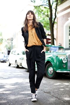 1e4aefb634 love this menswear look with black chucks Winter Outfits