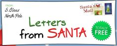 FREE Printable Letters From Santa!