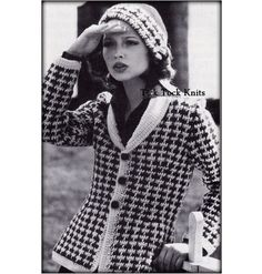 No.536 1970's Crochet Pattern Vintage PDF  by TickTockKnits