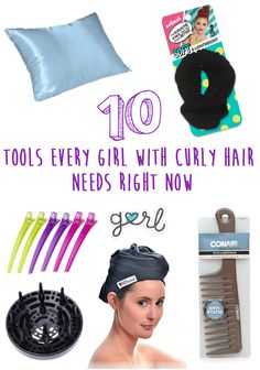 10 Tools Every Girl With Curly Hair Needs Right Now