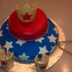 Wonder Woman inspired me to make this cake... 12/08/2012 By Diana Eaton  Wonder Woman Cake