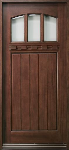 Best Finish For Mahogany Door