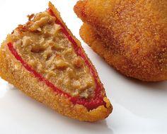 Delicioso Pimiento relleno de Carne y Verduras. Pruébalo en www.ameztoi.com