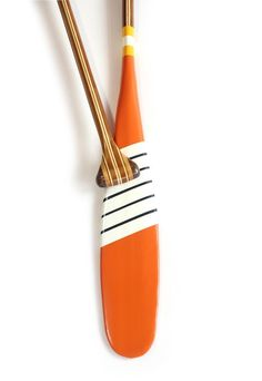 "Artisan Painted Canoe Paddle from Sanborn Canoe Co. - ""Billy Magee"" #SanbornCanoeCo"
