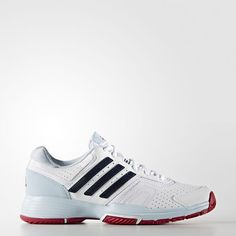 Adidas Barricade Court 2.0 Womens Shoes White Collegiate Navy Ice Blue  Aq2389 Adidas Barricade, Black adc5085697cc