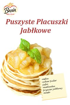 Puszyste Placuszki Jabłkowe: http://on.fb.me/1pEc58K