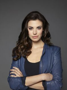 Meghan Ory as Ruby in Once Upon A Time. I love that she has my name!!! Its spelled the same too!!!?