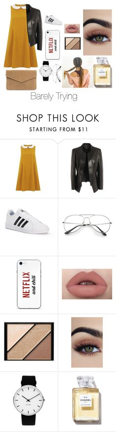 """Barely Trying"" by lydiagrayyoung on Polyvore featuring Alexander McQueen, adidas, Elizabeth Arden and Rosendahl"