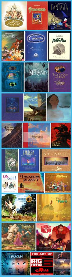 Every Disney 'Art Of' Book! For titles, author credits and Amazon order links, click the 'Disney Elite' link.
