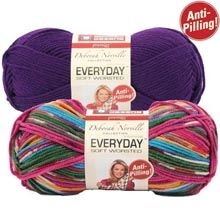 Premier� Deborah Norville Everyday� Soft Worsted Solids and Multis Yarn