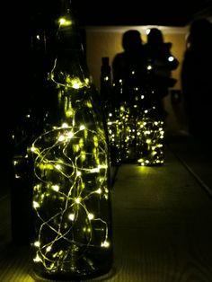 Lights, Bottle, Home Decor, Lily, Decoration Home, Room Decor, Flask, Lighting, Home Interior Design