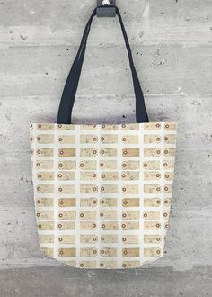 Tote Bag - Black swirls by VIDA VIDA