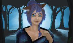 Cat girl V2 by Zazoreal on DeviantArt