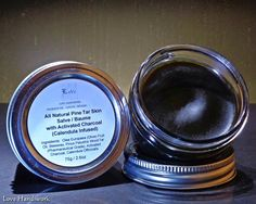 Pine Tar Skin Salve with Activated Charcoal All Natural Lip Balms, Activated Charcoal, Calendula, The Balm, Pine, Christmas Gifts, Natural, Health, Pine Tree