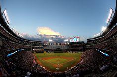 Rangers Ballpark in Arlington: home of the Texas Rangers