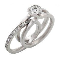 Andrew Geoghegan  Unity Brillant Diamond ring