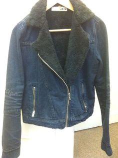 Topshop Denim Jacket. Size 10. | eBay
