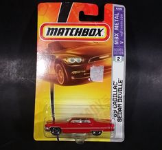 2008 Matchbox Heritage Classics 1969 Cadillac Sedan Deville Red Die Cast Toy Car New In Package https://treasurevalleyantiques.com/products/2008-matchbox-heritage-classics-1969-cadillac-sedan-deville-red-die-cast-toy-car-new-in-package #2000s #Matchbox #Heritage #Classics #1960s #60s #Sixties #Cadillacs #Sedan #Deville #DieCast #Toys #Cars #Vehicles #Autos #Automobiles #Collectibles #MustHaves