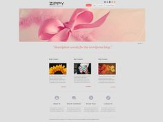 Zippy WordPress Theme