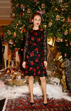 Olga Kurylenko: Risk Taker - Olga Kurylenko in Dolce and Gabbana