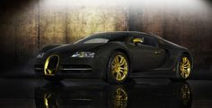 Extremely rare Bugatti Veyron Mansory Linea Vincero is for sale