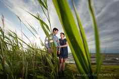 Lakeside Cleveland Engagement Session // Making the Moment Photography