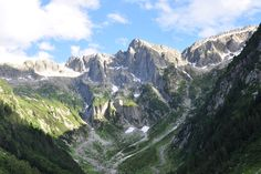 Die letzten Wildnisgebiete der Schweiz