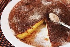 Crustless Milktart - recipe on www.aninas-recipes.com