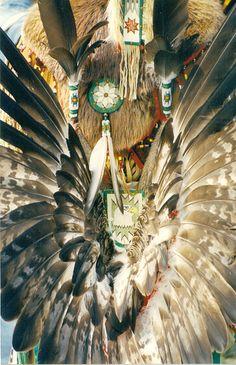 Native American Traditional Regalia Art, via Flickr.