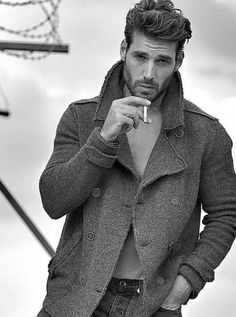 Joseph Cannata by Garreth Barclay Hot Guys Smoking, Man Smoking, Joseph Cannata, Cigarette Men, Men Smoking Cigarettes, Smoking Celebrities, Cute White Boys, Men Photography, Raining Men