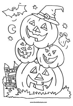head pumpkin in halloween night coloring pages halloween coloring pages kidsdrawing free coloring pages online - Halloween Pitchers