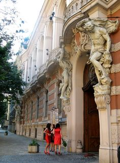 Lviv - Ukraine Old casino also known as the House of the Scientists