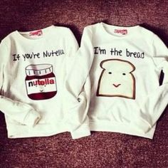 If you're nutella fleece sweater