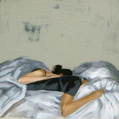 Sweet Dreams . 8 x 8 giclee art print by ClareElsaesser on Etsy, $25.00
