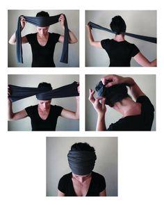 how to wear a Head Scarf Yoga Headband- by EcoShag headbands diy head wraps VICTORIAN ROSE Head Scarf, EcoShag Head Wrap, Muted Raspberry Head Scarves for Women, Linen Jersey Hair Wrap, Handmade Boho Hair Scarf Boho Headband, Wide Headband, Turban Headbands, Knit Headband, Short Hair Headband, Floral Headbands, Gossip Girl Serie, Mode Turban, Head Wraps For Women